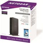 NETGEAR N300 (8x4) WiFi DOCSIS 3.0 Cable Modem Router